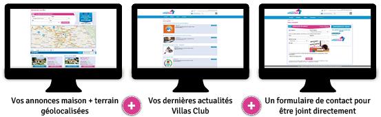 Votre site internet personnalisé Villas Club