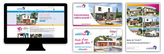 Plan de communication au lancement de votre activité Villas Club