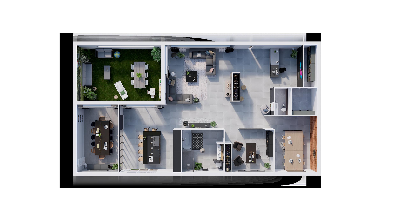 Découvrez le plan type d'une agence Villas Club